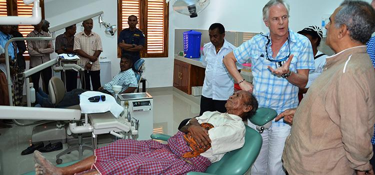 Dental Clinic opening in Timor